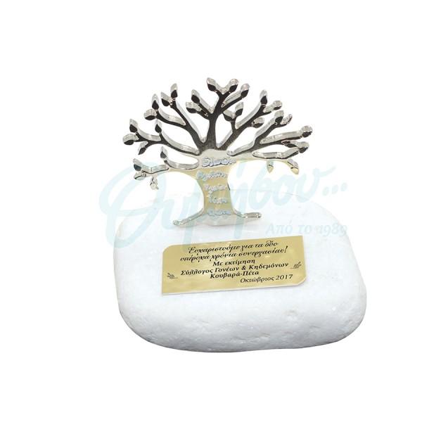 Βότσαλο με δέντρο